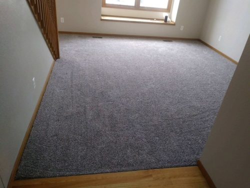 Fort Collins Carpet – color is Alaskan Air