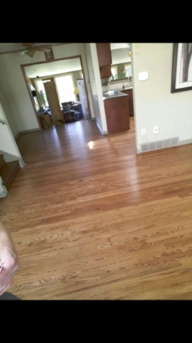 English Chestnut Stain Red Oak