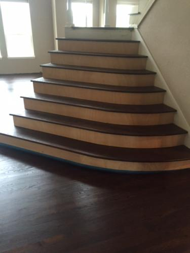 Custom Built Stairs With Custom Stain – Fort Collins