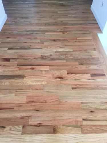 Red Oak #2 Install and Oil Finish in Fort Collins, CO
