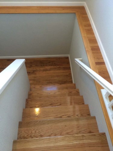 Hardwood Stair Installation and Refinishing – Fort Collins