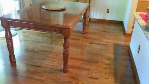 Hardwood Red Oak with Stairs – Windsor
