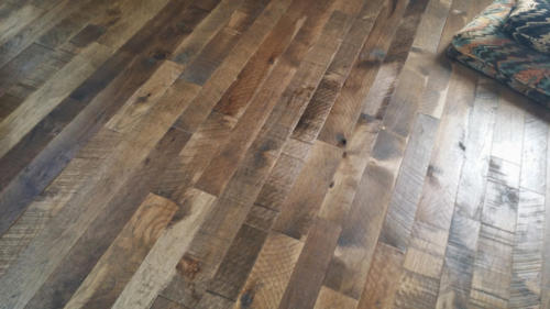 Reclaimed Hickory Floors in Fort Collins