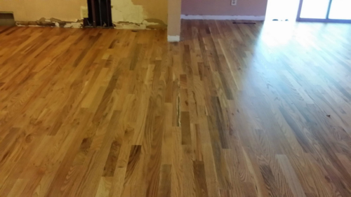 Red Oak Install, Sand, & Finish – Fort Collins, Colorado